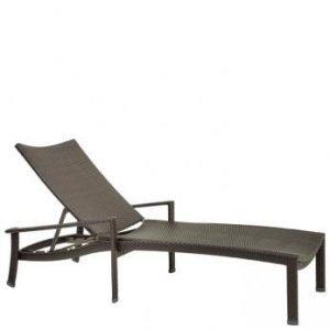 Vela Woven Chaise Lounge