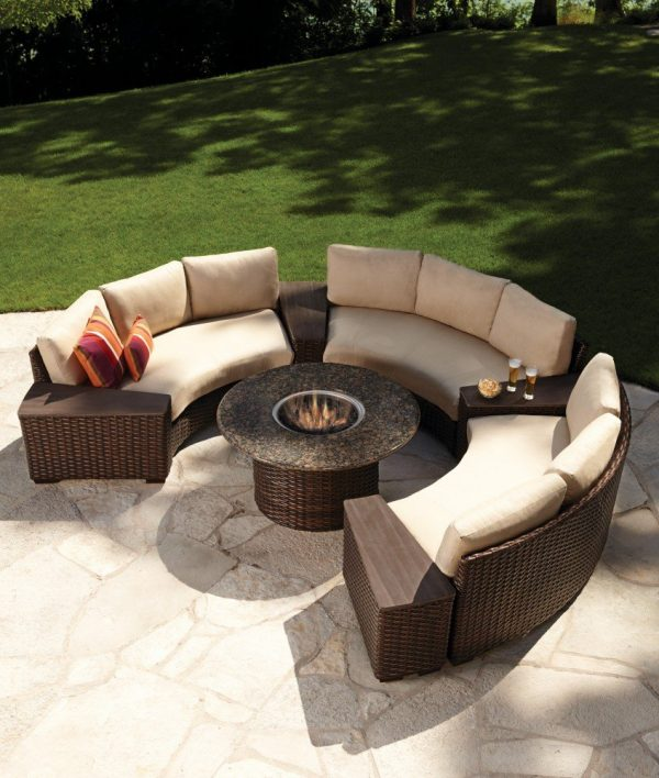 Comtempo Round Fire Table