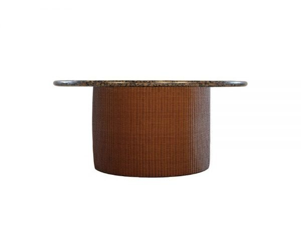 Loom Round Fire Table