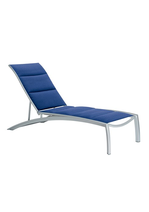 South Beach Padded Sling Chaise